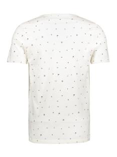 jorcrusoe tee ss crew neck 12147512 jack & jones t-shirt cloud dancer/slim