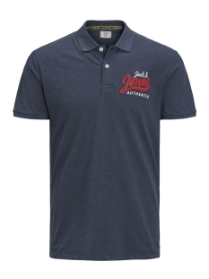 Jack & Jones Polo JORVARCITY POLO SS 12148262 Total Eclipse/SLIM
