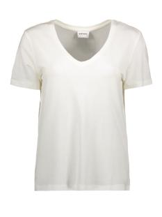 vmdina s/s v-neck vma 10199009 vero moda t-shirt snow white