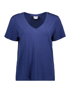 Vero Moda T-shirt VMDINA S/S V-NECK VMA 10199009 Twilight Blue