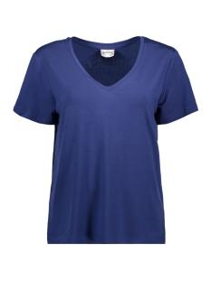 Vero Moda T-shirt VMDINA S/S V-NECK VMA 10199009 Twilight Blue