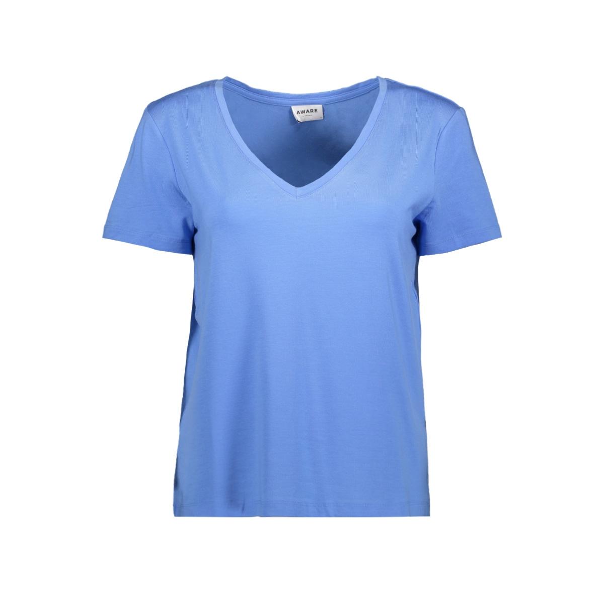 vmdina s/s v-neck vma 10199009 vero moda t-shirt granada sky