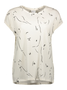 vmava plain ss top aop ga color 10211314 vero moda t-shirt pristine/coll 2 cro