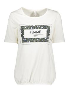 Zoso T-shirt SR1909 T-SHIRT PRINT OFF WHITE/ARMY