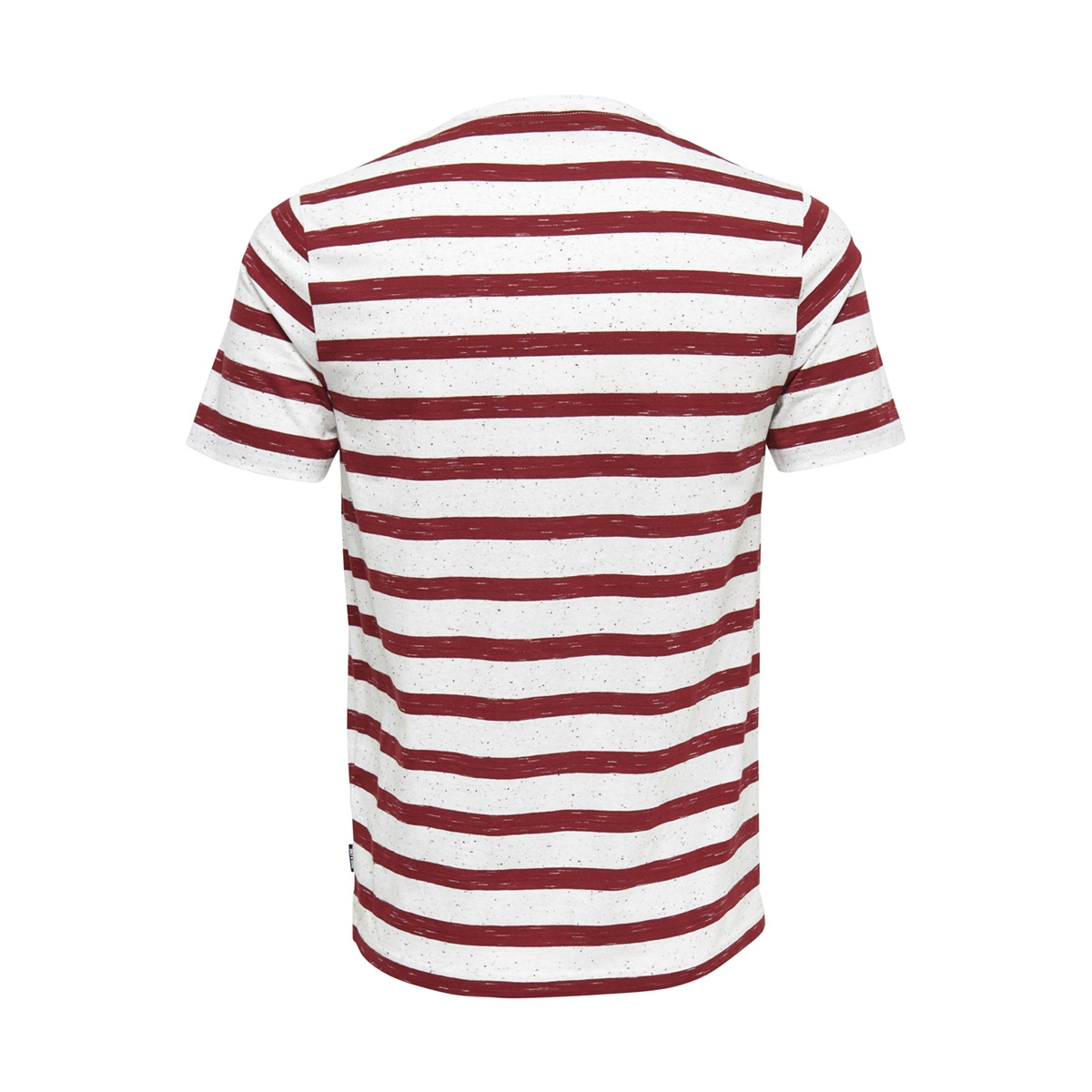 onselky stripe ss tee 22012161 only & sons t-shirt sun-dried tomato