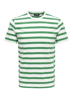 Only & Sons T-shirt onsELKY STRIPE SS TEE 22012161 Bosphorus