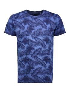NO-EXCESS T-shirt 90350215 136 Indigo Blue