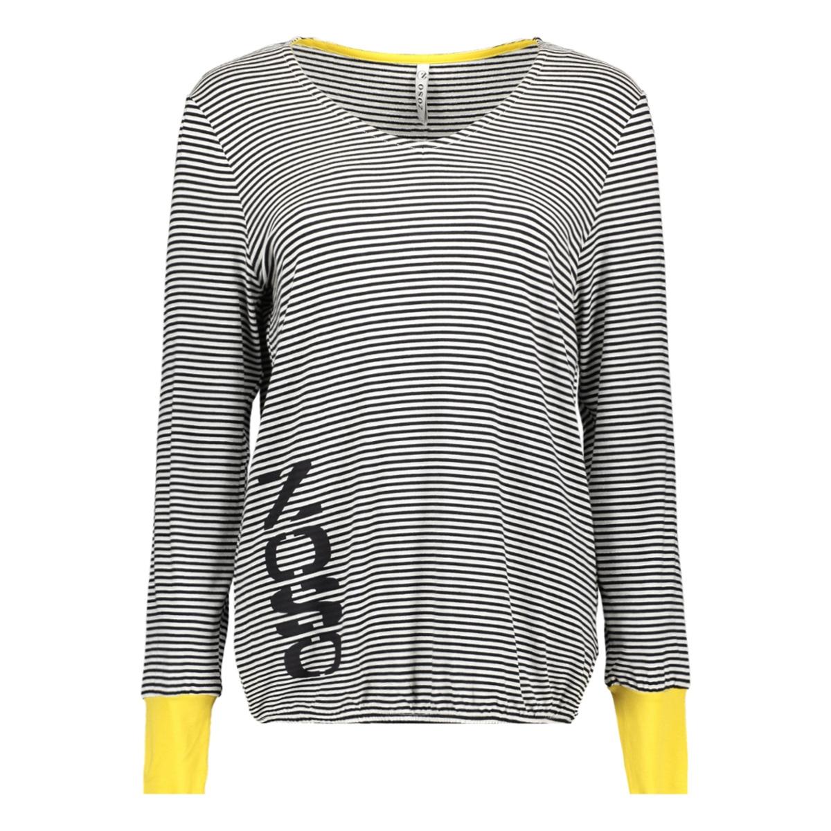 ay1912 zoso t-shirt offwhite/yellow