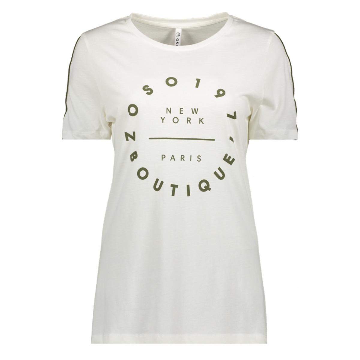 hr1932 zoso t-shirt offwhite/army