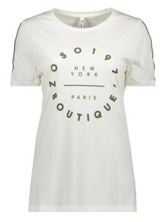 Zoso T-shirt HR1932 OFFWHITE/ARMY