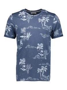 Produkt T-shirt PKTGMS HOLIDAY AOP TEE SS 12149680 Dark Denim