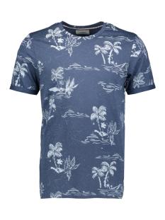 Produkt T-shirt PKTGMS HOLIDAY AOP TEE SS 12149680 Dark Denim