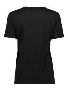 pcvibes ss tee d2d 17098959 pieces t-shirt black/with inca