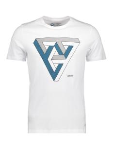 Jack & Jones T-shirt JCOBOOSTER TEE SS CREW NECK MARCH 1 12149273 White/SLIM