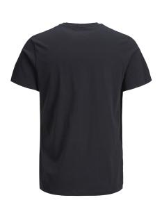 jcobooster tee ss crew neck march 1 12149273 jack & jones t-shirt black/slim