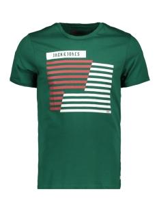 Jack & Jones T-shirt JCOBOOSTER TEE SS CREW NECK MARCH 1 12149273 Evergreen/SLIM
