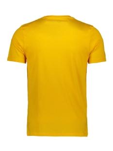 jcobooster tee ss crew neck march 1 12149273 jack & jones t-shirt gold fusion/slim