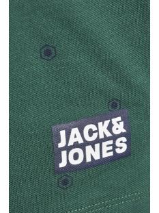 jcovictor polo ss nl 12154670 jack & jones polo evergreen/slim