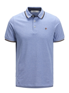 Jack & Jones Polo JPRPAULOS PLAY BLU. POLO SS STS 12135529 Bright Cobalt/SLIM MIXED