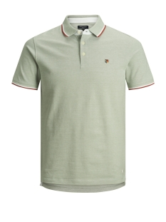 Jack & Jones Polo JPRPAULOS PLAY BLU. POLO SS STS 12135529 Lily Pad/SLIM MIXED