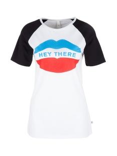 Q/S designed by T-shirt RAGLAN SHIRT MET MOTIEF 41903325086 01D0