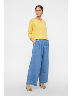 vmrain 3/4 sleeve  back string blouse 10207837 vero moda trui yarrow