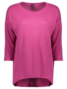 Vero Moda T-shirt VMMALENA 3/4 BLOUSE EXP COLOR 10206886 Festival Fuchsia