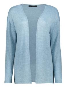 Vero Moda Vest VMBRIANNA LS OPEN CARDIGAN BOO 10208553 Cool Blue/W. SMOKE BLUE