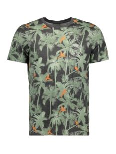 jorcrazy tee ss crew neck 12148893 jack & jones t-shirt asphalt/slim