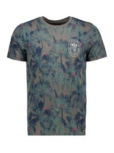 Jack & Jones T-shirt JORCRAZY TEE SS CREW NECK 12148893 Grey Melange/SLIM