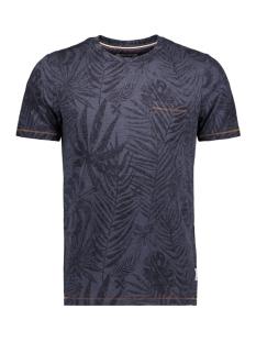 Produkt T-shirt PKTGMS CLYDE AOP TEE SS 12149694 Navy Blazer/MELANGE