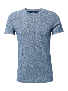 Tom Tailor T-shirt ALL OVER PRINTED SHIRT 1009915XX10 16978