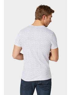 all over printed shirt 1009915xx10 tom tailor t-shirt 16981