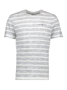 Tom Tailor T-shirt STRIPED T-SHIRT WITH POCKET 1009904XX10 16982
