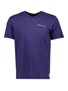 Tom Tailor T-shirt STRIPED T-SHIRT WITH POCKET 1009904XX10 16984