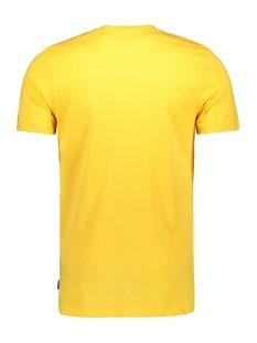 jorstave tee ss crew neck 12163143 jack & jones t-shirt yolk yellow/slim