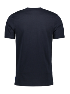 jorstave tee ss crew neck 12163143 jack & jones t-shirt total eclipse/slim
