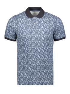 Produkt Polo PKTGMS MIX AOP POLO SS 12155060 Dark Denim/MICRO FLOW