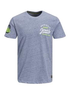 Jack & Jones T-shirt JORVARCITY TEE SS CREW NECK 12147872 Total Eclipse/SLIM