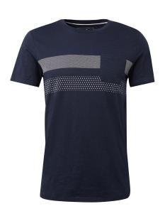Tom Tailor T-shirt T SHIRT MET MOTIEF 1008178XX12 10668