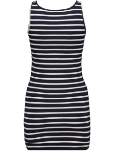 vmmaxi my soft long t/t stripe ga 10211579 vero moda top night sky/snow white