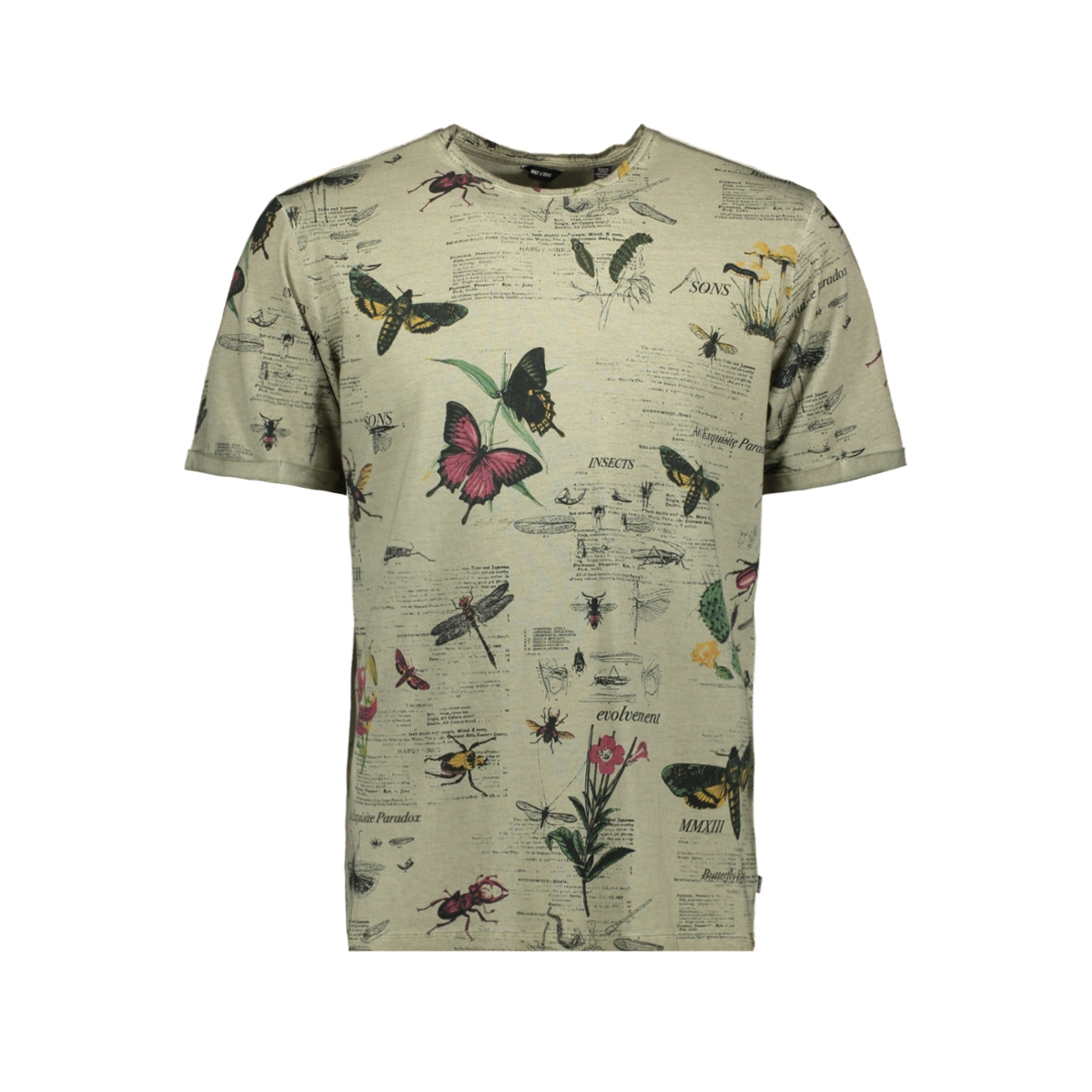 onsnew dimas bugy tee 22014079 only & sons t-shirt seagrass