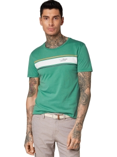 t shirt met wassing en print 1010035xx12 tom tailor t-shirt 12294