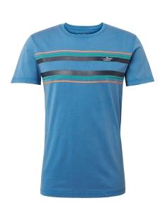 t shirt met wassing en print 1010035xx12 tom tailor t-shirt 10919