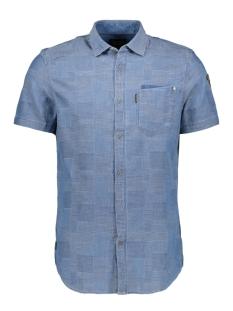 PME legend Overhemd SHIRT INDIGO BLOCK PSIS192230 5056