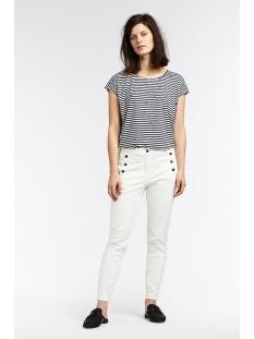 gestreept t shirt met stippenprint 21101648 sandwich t-shirt 40151