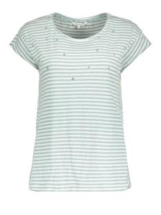 Sandwich T-shirt GESTREEPT T SHIRT MET STIPPENPRINT 21101648 50072