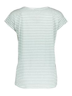 gestreept t shirt met stippenprint 21101648 sandwich t-shirt 50072