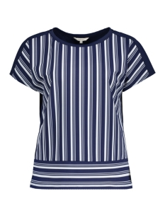 Sandwich T-shirt TRAVEL JERSEY TOP MET KNOOPJES OP DE RUG 21101647 40151