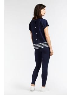 travel jersey top met knoopjes op de rug 21101647 sandwich t-shirt 40151